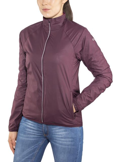 Icebreaker Rush Windbreaker Jacket Women Velvet/Prism
